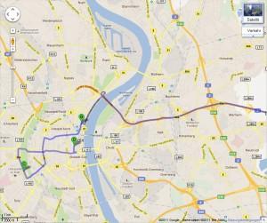 GRILLON2011 - Routenplanung